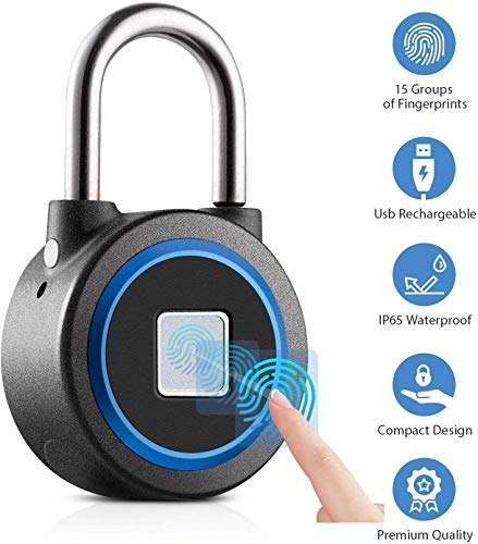 Fingerprint Padlock Bluetooth Connection