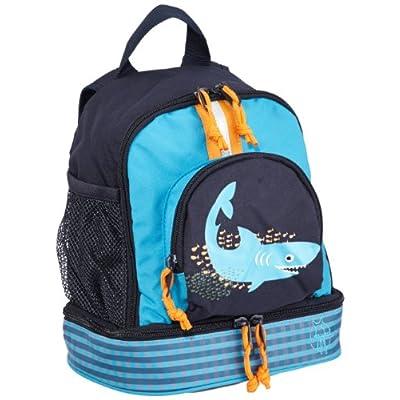 delicate Lassig Kids Kindergarten Backpack Shark ocean