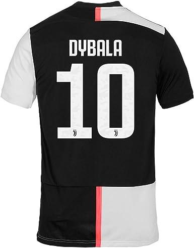 Juventus 2019-2020 Paulo Dybala # 10 - Camiseta de fútbol para ...
