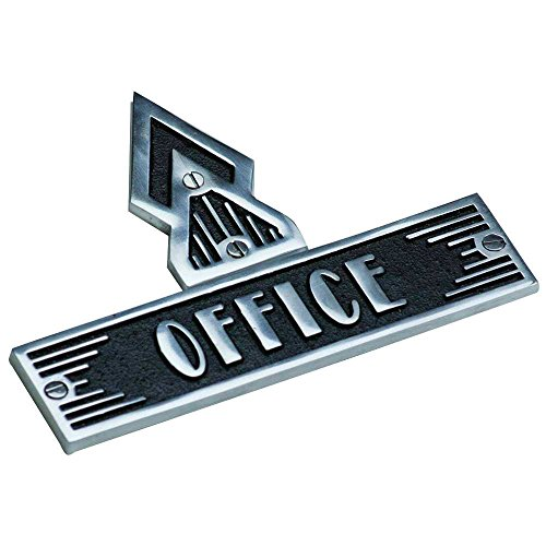 Art Deco Style Arrow Plaque By TheMetalFoundry.Ltd – 1 Piece Casting Signs Hand Made From Solid Cast Brass