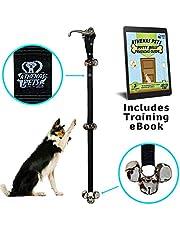 Athenas Pets Dog Bells for Potty Training, Best Dog Bell for Puppy Training, Adjustable Dog Door Bell, Premium Quality Nylon Dog Training Bells for Door for Dog Potty Training, Loud Dog Doorbell