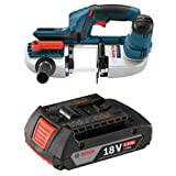 Bosch Bare-Tool BSH180B 18-Volt Lithium-Ion Compact Band Saw with 2.0 AH battery