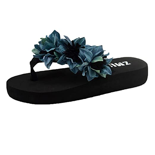 3a95af7c043c8 Amazon.com: {Minikoad}Women Flat Bottom Sandals,Ladies Beach Flip ...