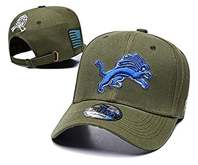 zhoubai Adjustable Baseball Caps, Fitted Dad Hats for NFL Fans