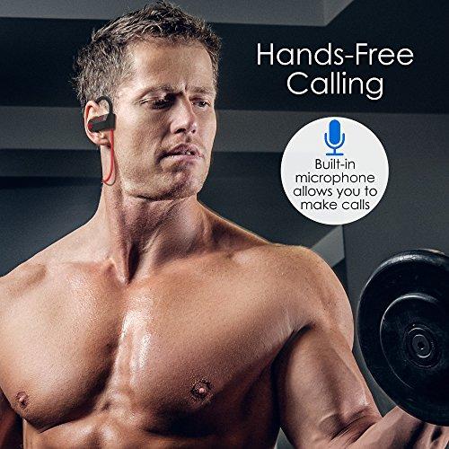 Bluetooth Headphones Wireless - Mens Womens Running Headphones - Best Sports Wireless Earbuds Earphones - IPx7 Wireless In-ear Headphones - Sport Bluetooth Headphones for Women Men (up to 10 Hours) - Image 5