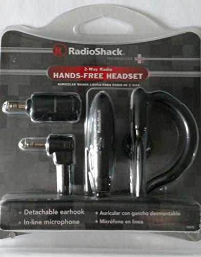 Radio Shack 2 Way Radio Hands Free Headset