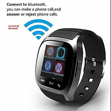 Fitness Smartwach Smartwatch para Apple Samsung HTC iPhone, actividad Tracker, contador de calorías,