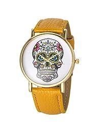 LightInTheBox Women's Watch Fashion Skull Pattern Designer Watch Christmas Gift Present£¨Color=Black£©