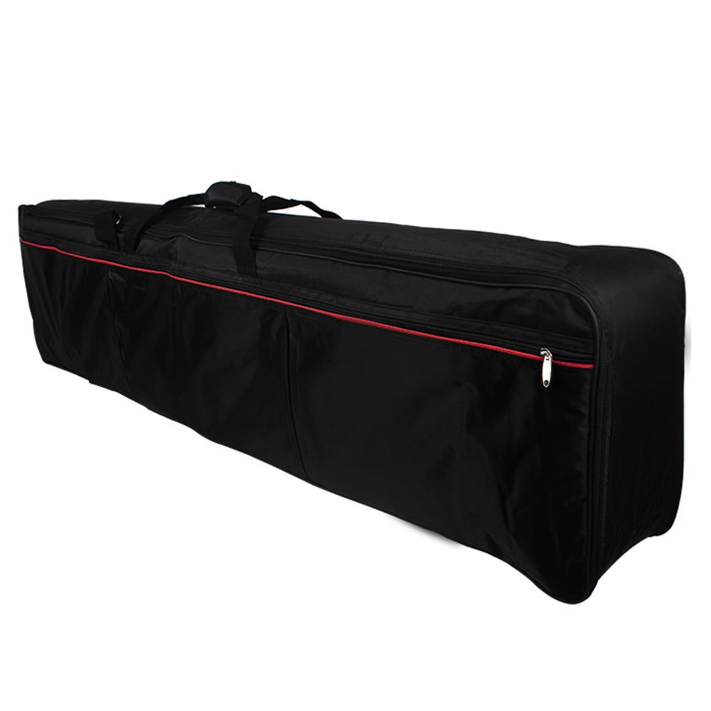 Andoer Portable 61 Touches Clavier Piano électrique Padded Case Housse Tissu Oxford And-0814