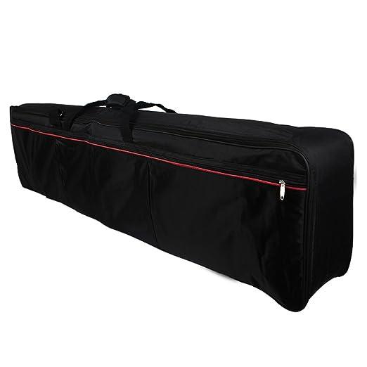 5 opinioni per Andoer® Portable Keyboard 88-Key Elettrico Piano Caso Riempito Gig Bag in