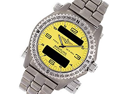 Breitling Emergency Quartz Male Watch E56121 (Certified Pre-Owned) by Breitling