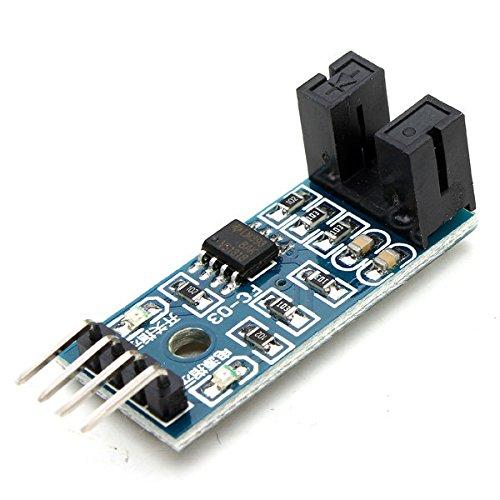 5Pcs Speed Measuring Sensor Counter Motor Test Groove Coupler Module For - Arduino Compatible SCM & DIY Kits Module Board - 5 x Speed Measuring Sensor Module