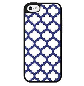 Dark Blue Pattern Hard Snap on Phone Case (iPhone 5c)