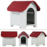 BestPet Waterproof Dog House Portable Indoor & Outdoor Pet Kennel Pet Shelter Dog Cage