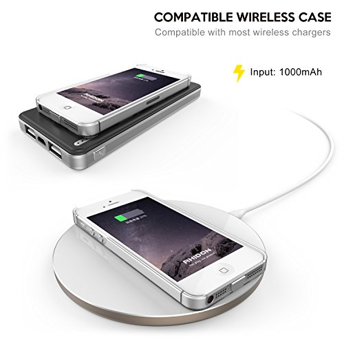 iphone 5s wireless charging iphone 5s wireless receiver rhidon iphone 5 5s se qi 6715