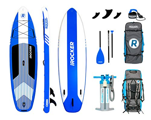 iROCKER Cruiser Inflatable Stand Up Paddle Board 10'6