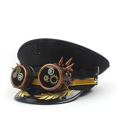 GHC gorras y sombreros Sombrero de capitán del festival para hombres ... bae4ed88ea2
