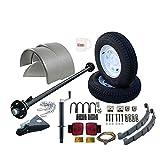 single axle utility trailers - Utility Trailer Parts Kit 3500 lb, Single Axle Trailer - 85