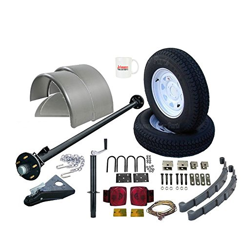 Utility Trailer Parts Kit 3500 lb, Single Axle Trailer - 85