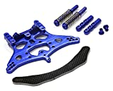 Integy RC Model Hop-ups T7957BLUE Rear Shock Tower for Traxxas 1 10 Stampede 2WD XL5 & VXL
