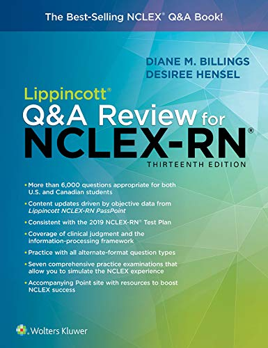 Lippincott Q&A Review for NCLEX-RN (Lippincott's Review For NCLEX-RN)