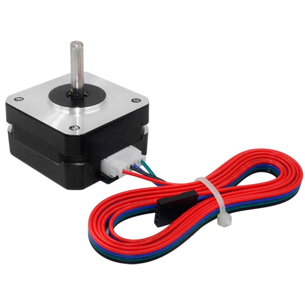 23mm Nema 17 1.8° 2 Phase 4-Wire Stepper Motor For 3D Printer Monitor