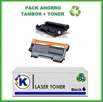TAMBOR PACK TONER + TAMBOR Brother TN2220+ DRUM 2200 ...