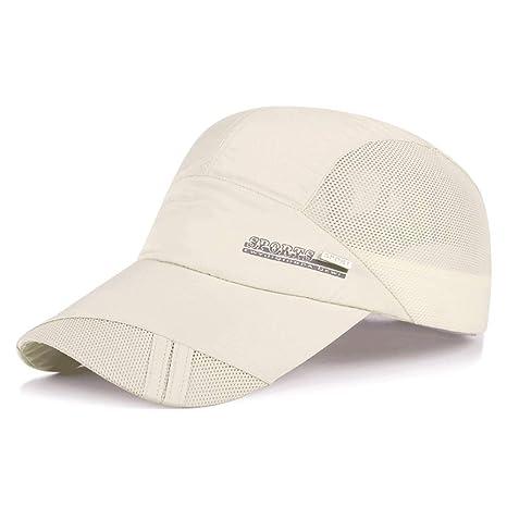 dc1c31fcaf0d LDDENDP Sombrero Gorra de béisbol de malla de verano para hombre ...
