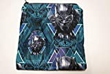 Black Panther, Snack Bag/Sandwich Bag, Reusable Food Storage
