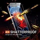 TORRAS Diamonds Hard iPhone 11 Pro Screen Protector iPhone X Screen Protector iPhone XS Screen Protector, [Military Grade Shatterproof] [Eye Protection] HD Clear Tempered Glass Film Clear 5.8''-2 Pack