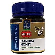 Active MGO 400+ (Old 20+) Manuka Honey 100% Pure by Manuka Health New Zealand Ltd. - 8.75 oz/250g jar