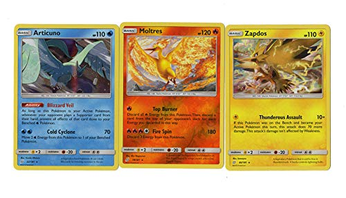 Sun Moon Team Up - Legendary Set - Articuno 32/181- for sale  Delivered anywhere in USA