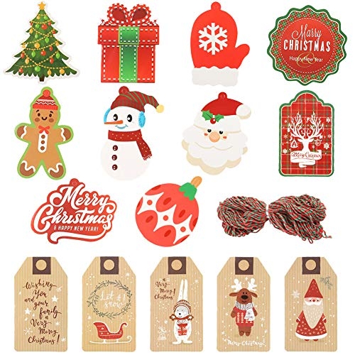 perfect  pretty xmas tags