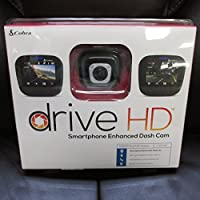 Cobra Drive HD Smartphone Enhanced Dash Cam CCDC4420
