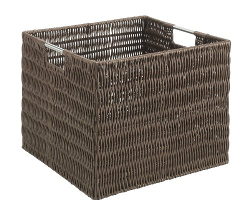 Whitmor Rattique Storage Crate Java product image