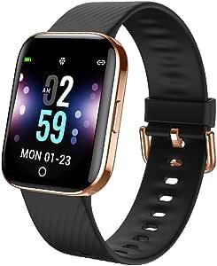 Smartwatch - Reloj Inteligente Mujer Hombre Impermeable con ...