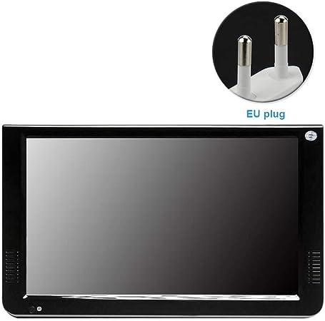KLOP256 TV portátil, sistema de televisión para coche, 4 pulgadas, DVB T2 TV, TFT LCD digital