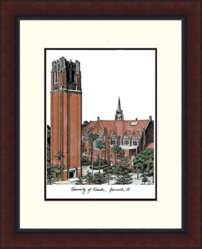 Campus Images University of Florida, The Tower Legacy Alumnus Lithographic Prints (Tower University)