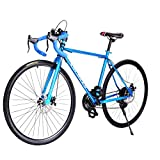 Gracelove Fashion 700C Aluminum 21 Speed Road/Commuter Bike Racing Bicycle Blue (Blue) Review