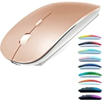 Rechargeable Bluetooth Mouse for Laptop Mac Pro Air Bluetooth Wireless Mouse for MacBook pro MacBook Air MacBook Mac…