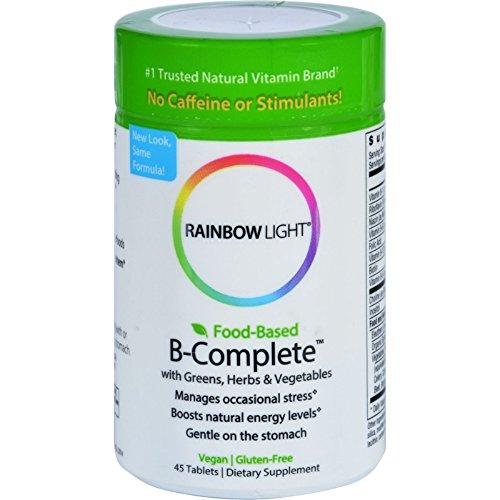 Complete 45 Tabs (Rainbow Light B-Complete - 45 Tablets)