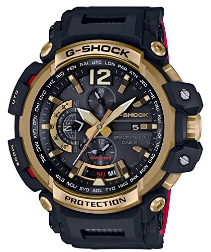 (CASIO G-SHOCK GRAVITYMASTER 35th Anniversary GOLD TORNADO GPW-2000TFB-1AJR MENS MADE IN JAPAN)