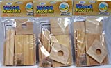 wood and nails toy kit - Creative Hobbies® Wooden Model Kit Bird House - Wholesale Lot of 3 Kits