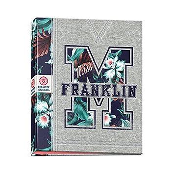 Archivador escolar A4 4 anillas Franklin Marshall rígida: Amazon.es: Oficina y papelería