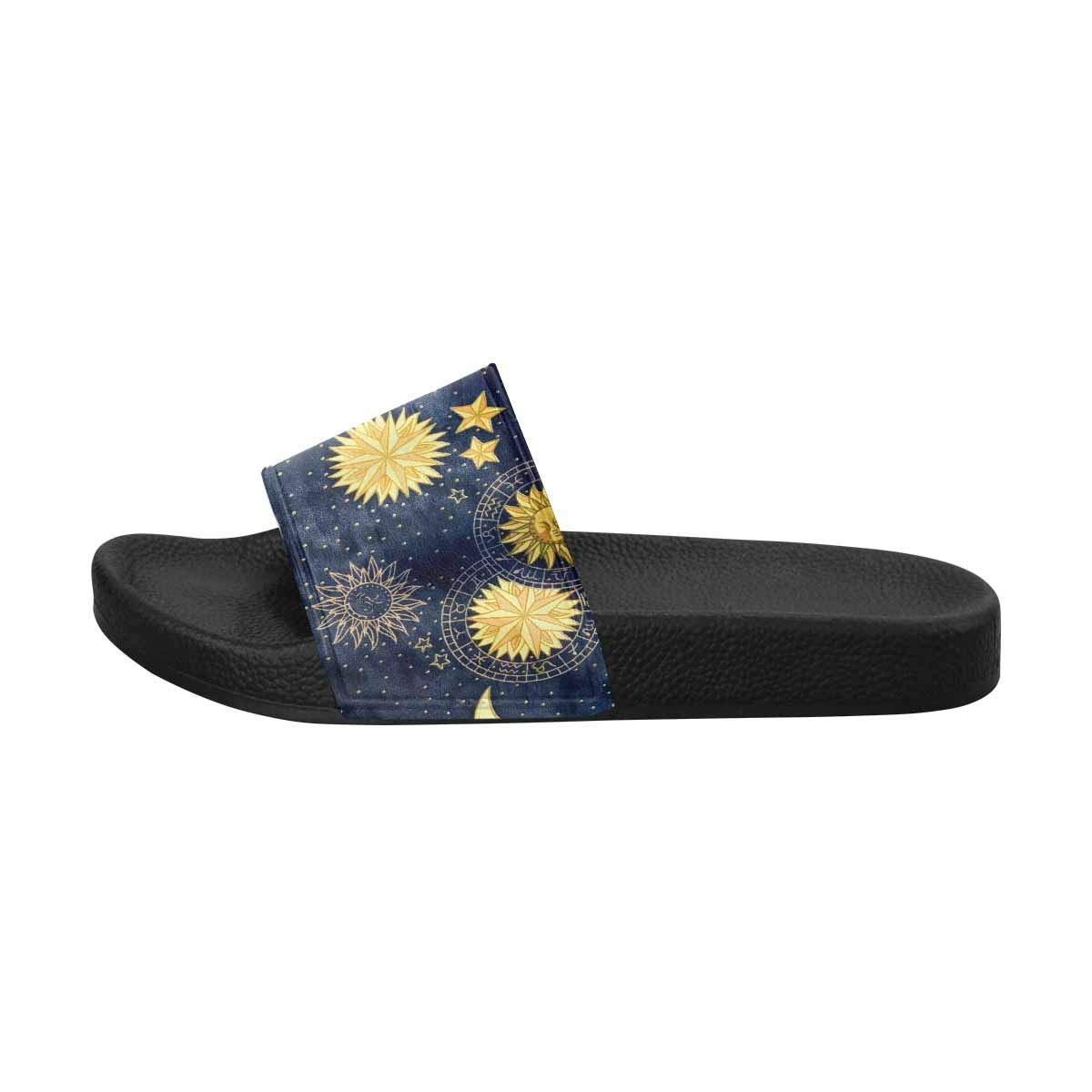 US6~US12 INTERESTPRINT Womens Slide Sandals Water Shoes for Beach and Pool