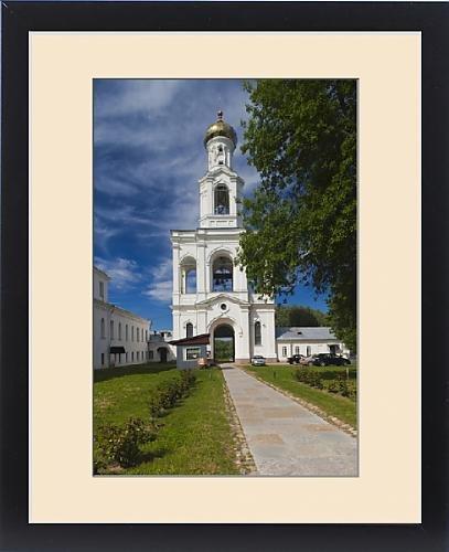 Framed Print of Russia, Novgorod Oblast, Veliky Novgorod, Yuryev Monastery by Fine Art Storehouse