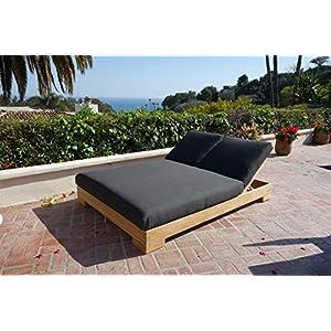 51gu8tH57zL._SS300_ Teak Lounge Chairs & Teak Chaise Lounges