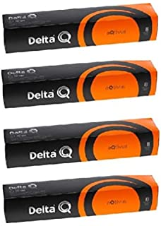 Delta Q QOOL Evolution RED Cafetera Cápsulas, 1200 W, Compuesto ...