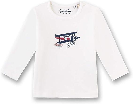 Sanetta Shirt Manches Longues B/éb/é gar/çon