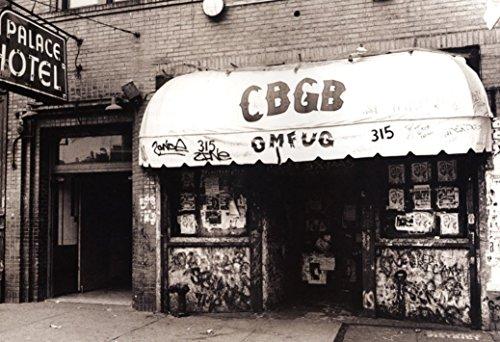 Punk Rock Music Club & Venue New York CBGB Fabric Cloth Rolled Wall Poster Print -- Size: (36